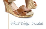 Whilst Wedge Sandals