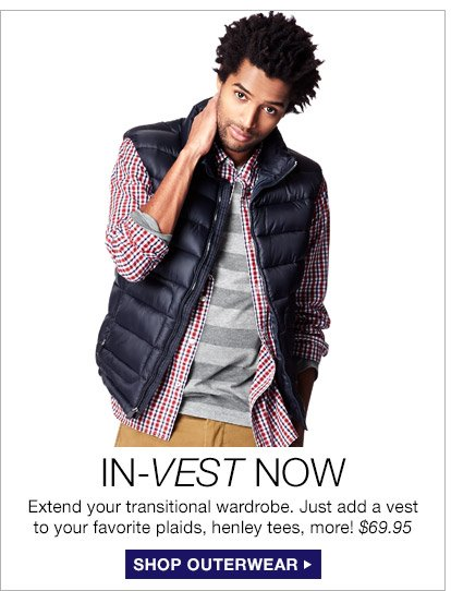 IN-VEST NOW | SHOP OUTERWEAR