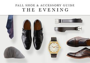 Fall Shoe & Accessory Guide: The Evening