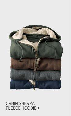 Cabin Sherpa Fleece Hoodie