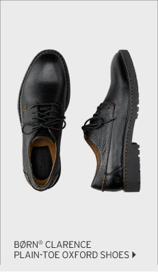BORN® Clarence Plain-Toe Oxford Shoes