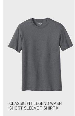 Classic Fit Legend Wash Short-Sleeve T-Shirt