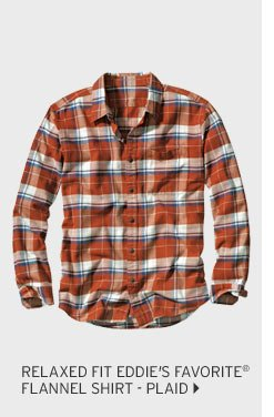 Relaxed Fit Eddie's Fav Flannel Shirt