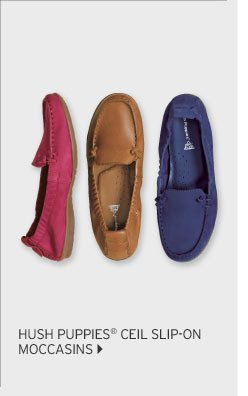 Hush Puppies ® Ceil Slip-On Moccasins