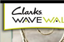 Clarks WAVWWALK was created to enhance the experience of walking, allowing you to walk longer and farther with less fatigue and greater comfort. Walking feels effortless... from the very first step.