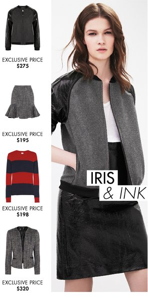 IRIS AND INK - DISCOVER THE WINTER/FALL COLLECTION
