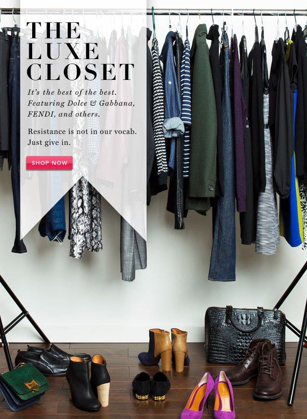 The Luxe Closet: Casadei & More