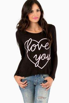 LOVE YOU HEART TOP 26