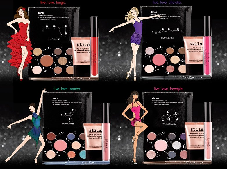 we've created exclusive sets, palettes, blushes and more inspired by the stila makeup used backstage on all the dancers on dancing with the stars