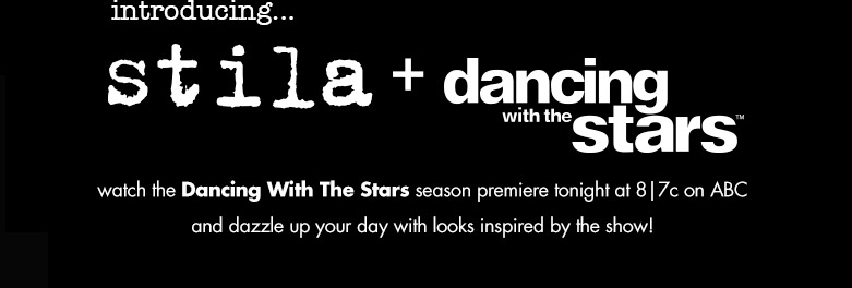 introducing the stila + dancing with the stars collection