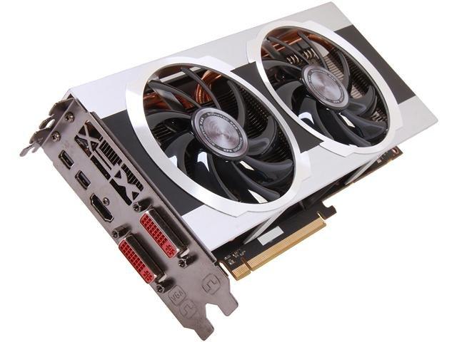 XFX Double D FX797ATDJC Radeon HD 7970 3GB 384-bit DDR5 PCI Express 3.0 CrossFireX Support Video Card