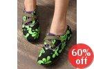 Printed Velcro Sneakers