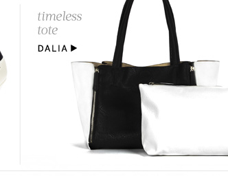 Timeless tote. Shop Dalia