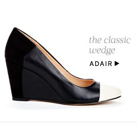 The classic wedge. Shop Adair