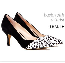 Basic with a twist. Shop Shani