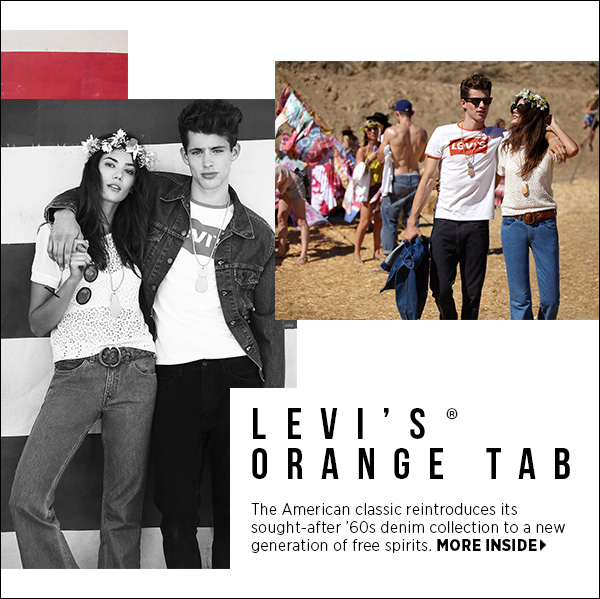 Levi's reintroduces its sought-after '70s denim collection, Orange Tab, to a new generation of free spirits. >>