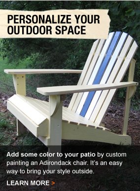 Personalize Your Outdoor Space