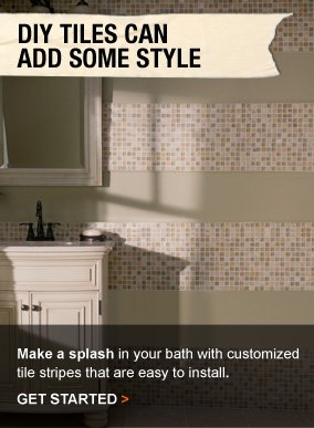 DIY Tiles Can Add Some Style