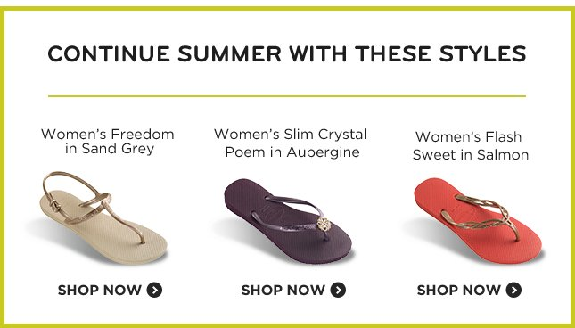 Continue Summer With These Styles