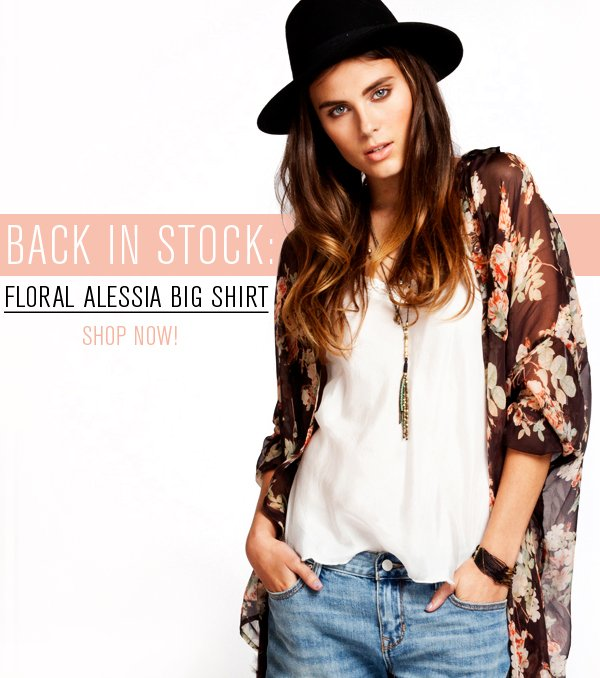 Back in Stock: Floral Alessia Top