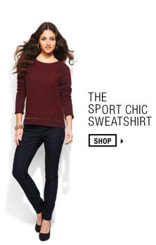 The Sport Chic Sweatshirt. Shop.