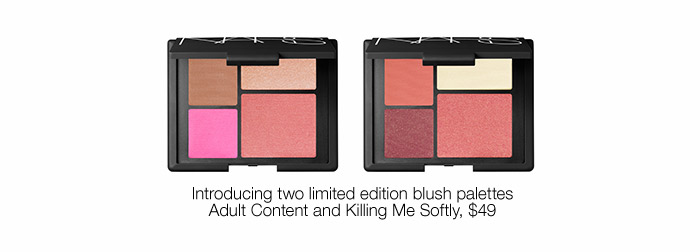 Introducing two new limited edition blush palettes.