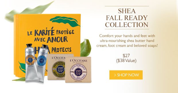 Shea Fall Ready Collection $27 ($38 Value)