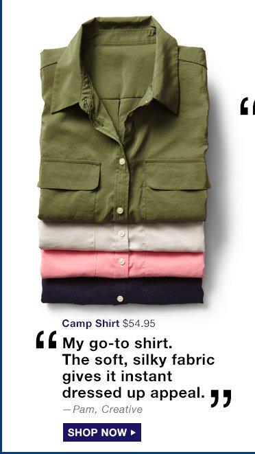 Camp Shirt | SHOP NOW