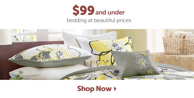 $99 and under bedding at beautiful prices - Shop Now