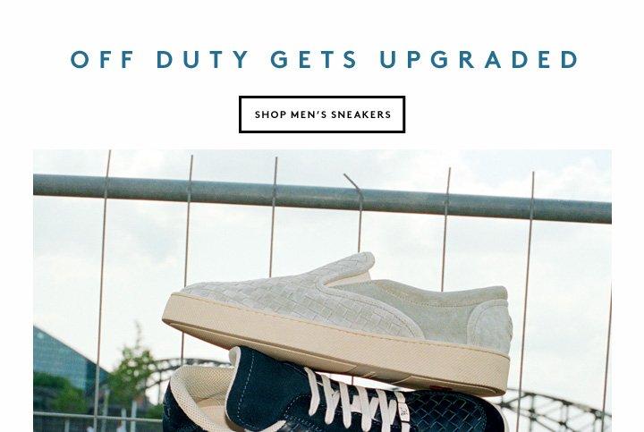 Get your kicks in men's sneakers by Bottega Veneta and more.