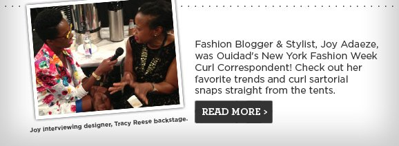 Check out Joy Adaeze's favorite trends from NYFW