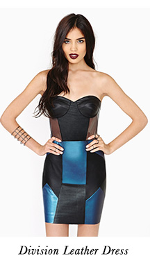 Division Leather Dress