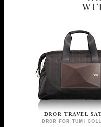 Travel with Distinction - Shop Dror Travel Satchel