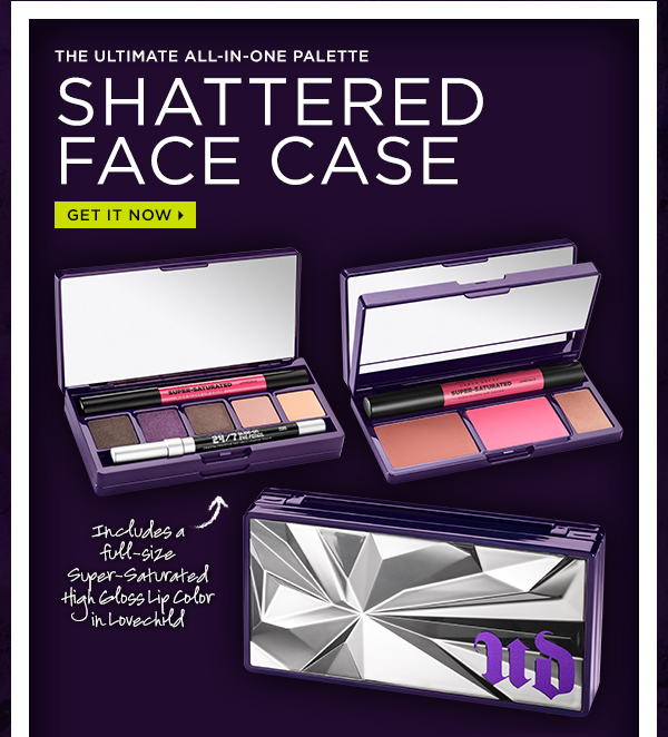 The Ultimate All-In-One Palette - Shattered Face Case. Get It Now >