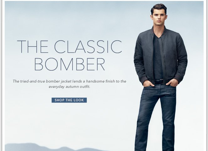 Shop The Look - The Classic Bomber