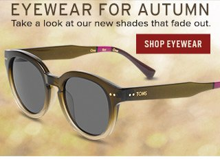 Take a look at our new shades that fade out - Shop Eyewear