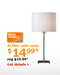ALÄNG table lamp $14.99*