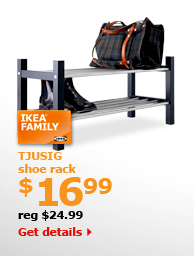 TJUSIG shoe rack $16.99