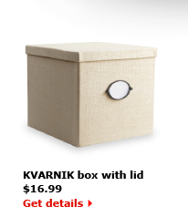 KVARNIK box with lid $16.99