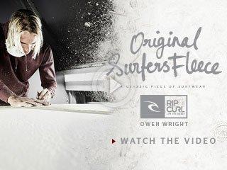 Original Surfers Fleece - Owen Wright - Watch The Video