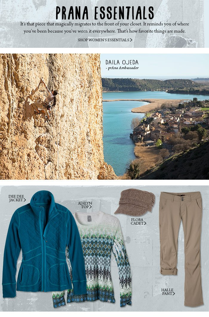 prAna Essentials