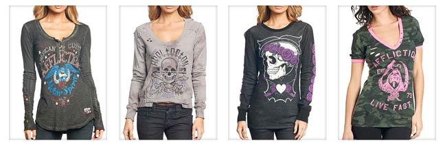 Womens Long Sleeve Tees