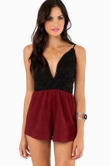 ALL IN LACE ROMPER 39