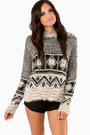 GEOMATIC FUZZY SWEATER 37