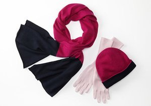 Warm Up: Hats, Scarves & Gloves from Magaschoni