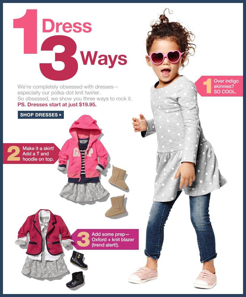 1 Dress 3 Ways | SHOP DRESSES