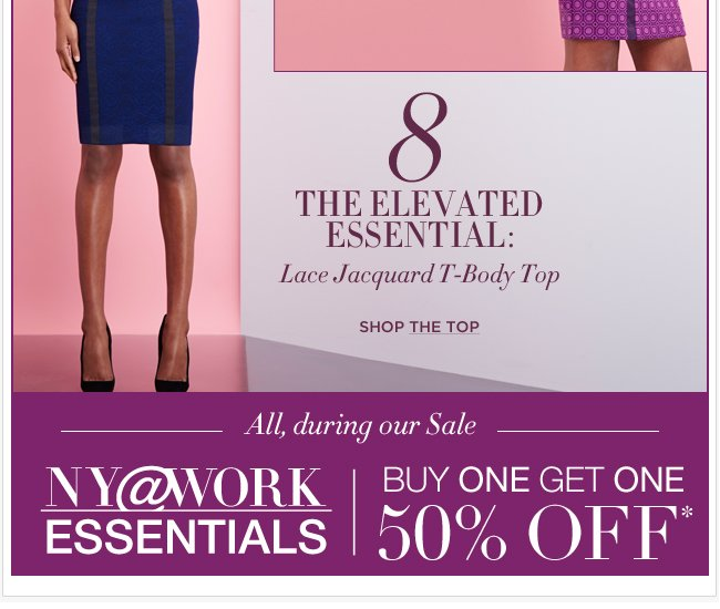 NY@Work Collections are B1G1 50% off! Go Now!