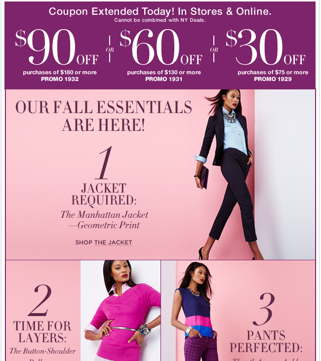 $90 coupon EXTENDED 1 MORE DAY! Shop Now!