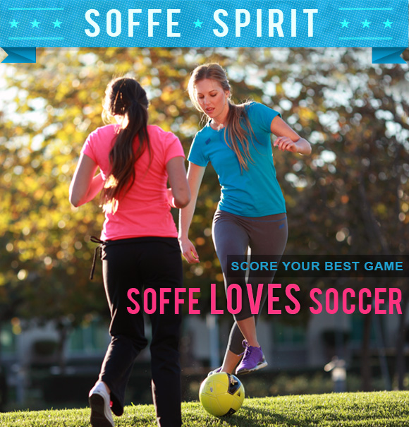 Soffe Spirit. Soffe loves soccer