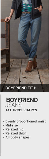 Women's Boyfriend Fit Jeans